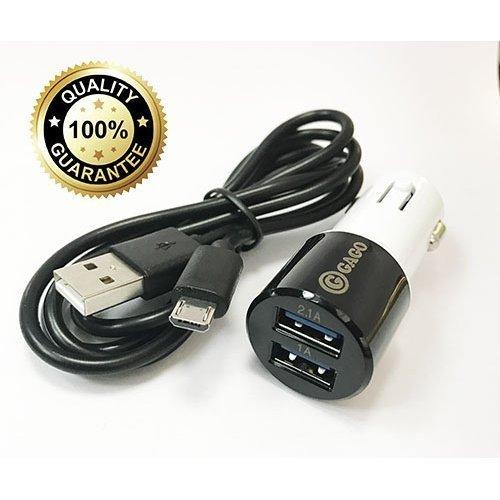 Зарядно за кола с кабел 12V Micro USB