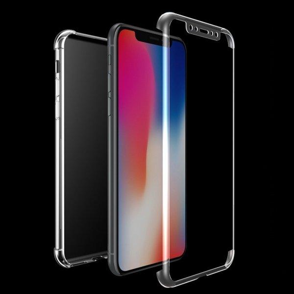 360 градусов силиконов TPU кейс Iphone X