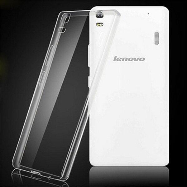 Ултра тънък силиконов гръб Lenovo A1000/А6000/А7000