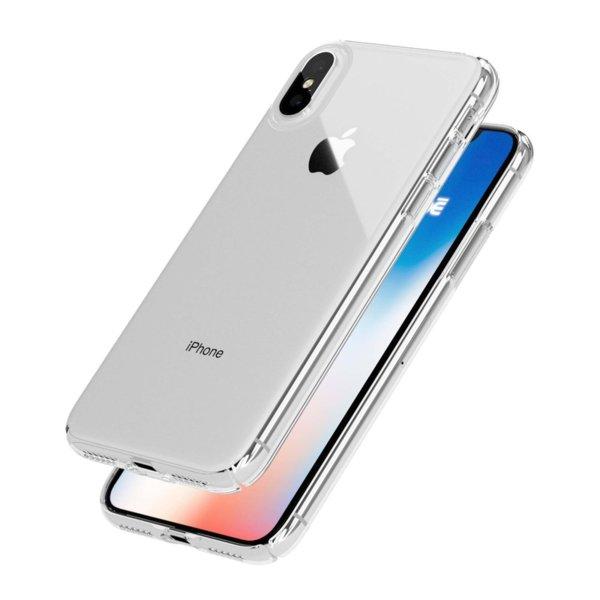 Crystal Clear Твърд прозрачен гръб Iphone X