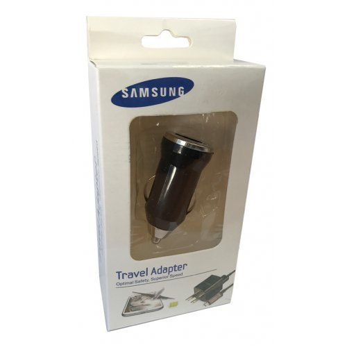 Зарядно за автомобил 12/24V 1А за Samsung