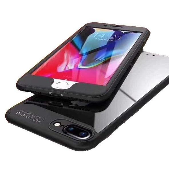 360 Auto Focus Back Transparent iPhone X/10