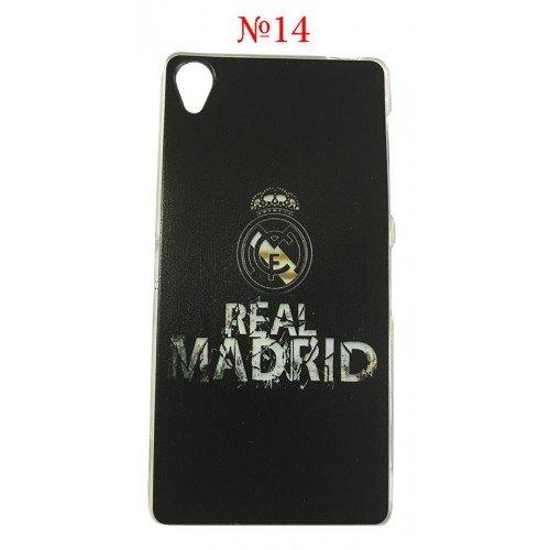 Силиконов гръб Real Madrid Sony Xperia M5