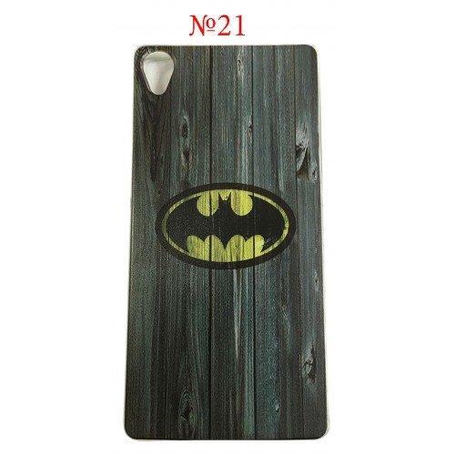 Силиконов гръб Batman America Sony Xperia M5