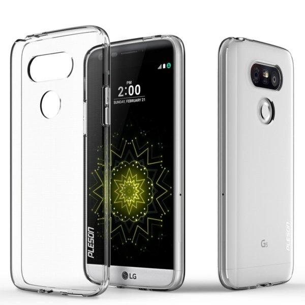 Ултра тънък силиконов гръб за LG G5