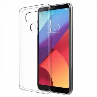Силиконов гръб Crystal clear SPIGEN LG G6