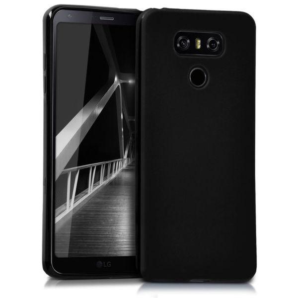 Черен силиконов гръб LG G6