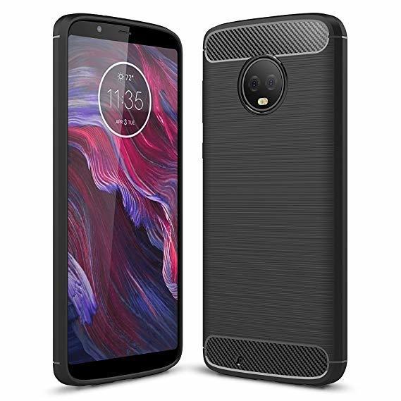 Carbon fiber гръб Motorola Moto G6 Plus