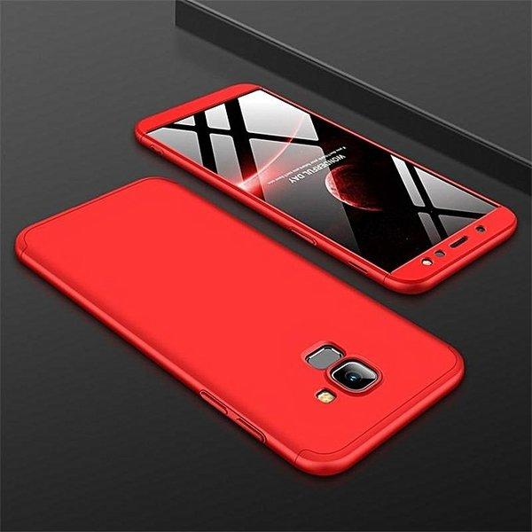 360° Case IPAKY Samsung J6 Plus 2018 + Протектор