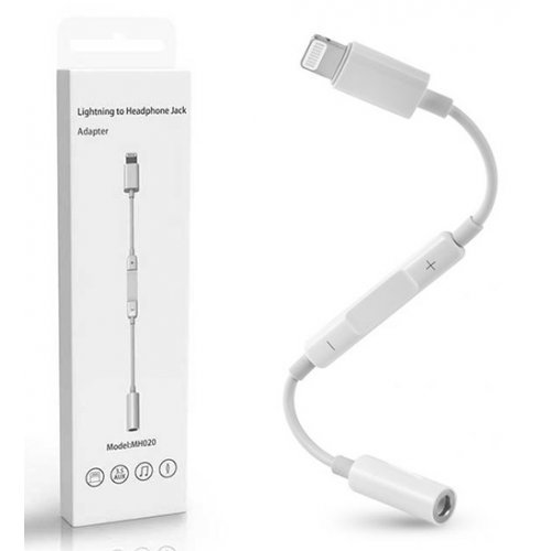 Lighting кабел за iPhone 5/6/7/8/X към 3.5mm