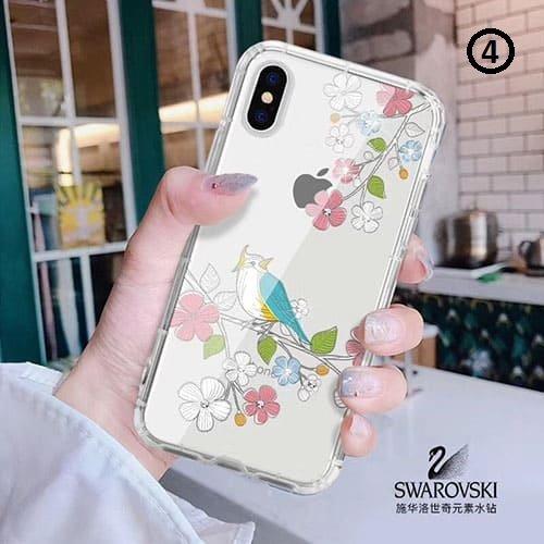 Swarovski birds iPhone 5/5S/SE