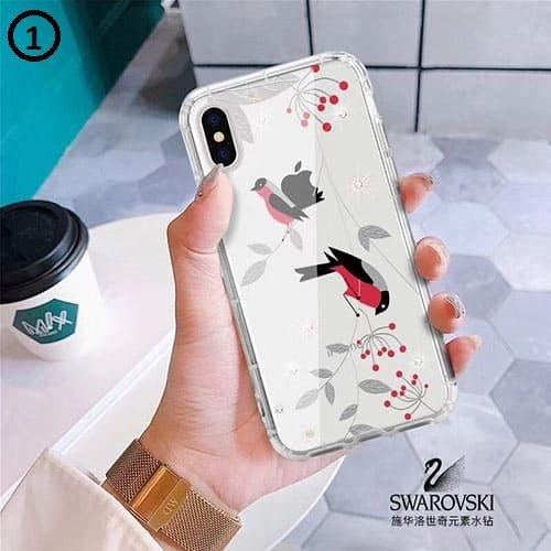 Swarovski birds Huawei Y7 2018