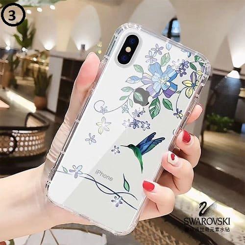 Swarovski birds Samsung A9 2018
