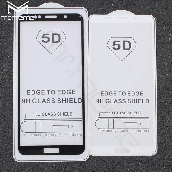5D Glass  FULL GLUE стъклен протектор Huawei Y6 2018