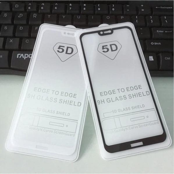 5D Glass FULL GLUE стъклен протектор Huawei P20 lite