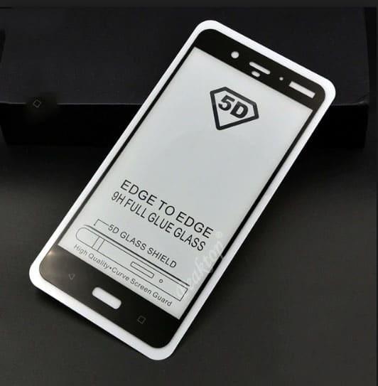 5D  Glass FULL GLUE стъклен протектор Nokia 5