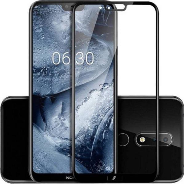 5D  Glass FULL GLUE стъклен протектор Nokia 6