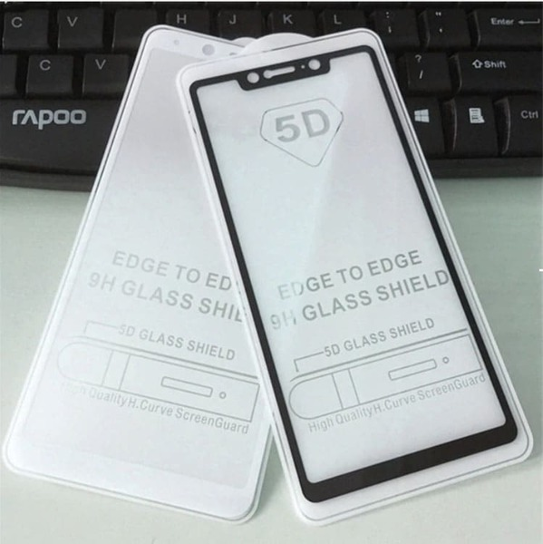 5D Glass  FULL GLUE стъклен протектор Xiaomi MI 8 SE
