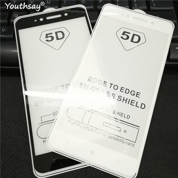 5D Glass  FULL GLUE стъклен протектор Xiaomi Redmi Note 5A / Redmi Y1