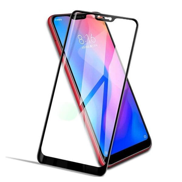 5D  Glass FULL GLUE стъклен протектор Xiaomi MI A2 lite (Redmi 6 pro)