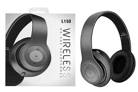 Безжични Bluetooth бас слушалки за глава