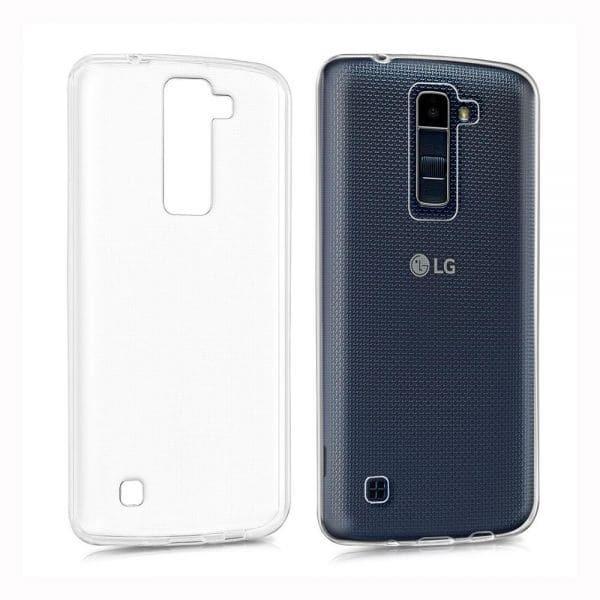 Силиконов гръб Crystal LG K8