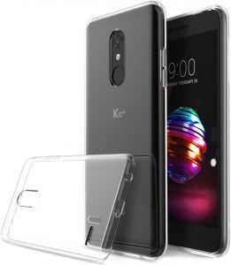 Силиконов гръб Crystal LG K10 2018