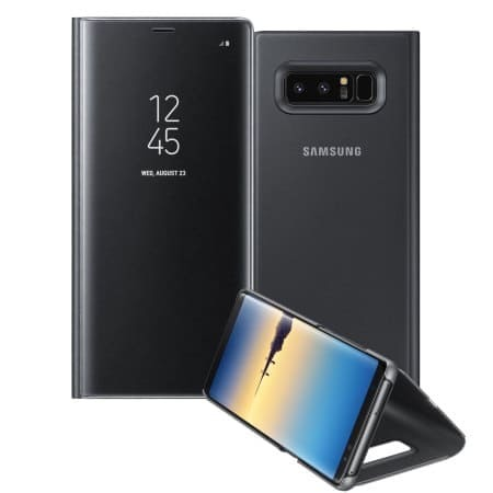 Clear View Flip Case Samsung Note 8