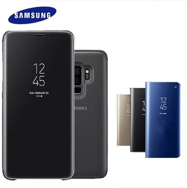 Clear View Flip Case Samsung S9 (активен)