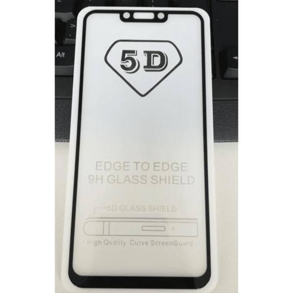 5D Glass  FULL GLUE стъклен протектор Xiaomi MI 8 Lite