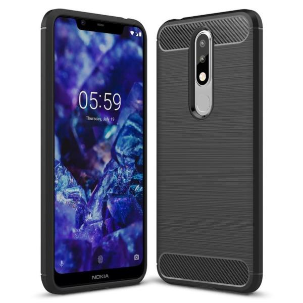 Carbon fiber гръб Nokia 5.1 Plus 2018