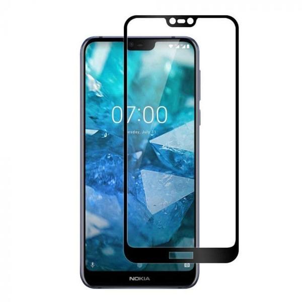 3D стъклен протектор Full face Nokia 7.1 2018