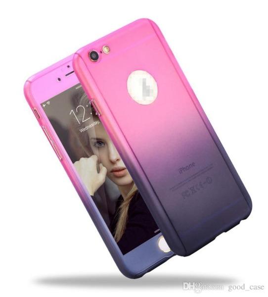 360 градусов кейс Gradient iPhone 6 Plus