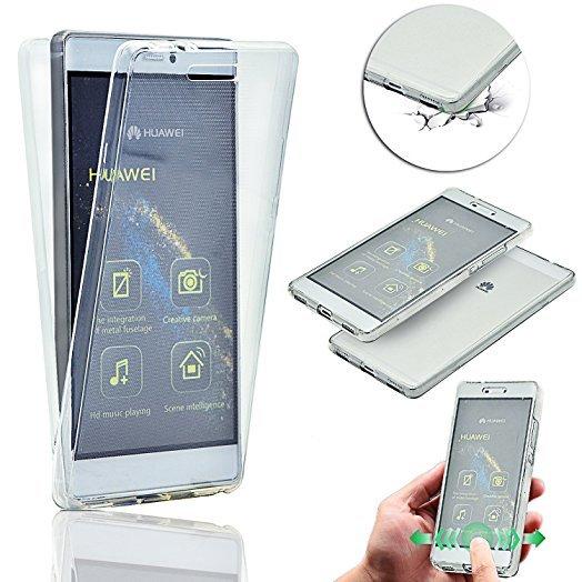 360 градусов кейс силиконов Huawei P8 Lite