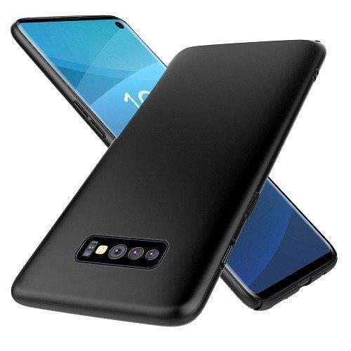 Черен силиконов гръб Samsung S10 Plus