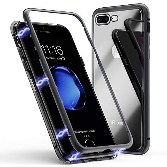 360 Magnetic Case с метална рамка Iphone 7/8