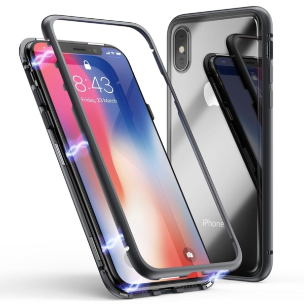 360 Magnetic Case с метална рамка Iphone X/XS