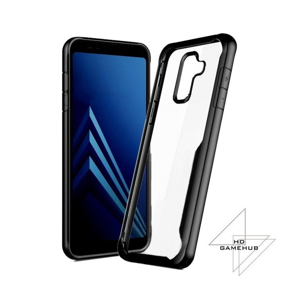 Ipaky Acrylic противоударен гръб Samsung A8 2018