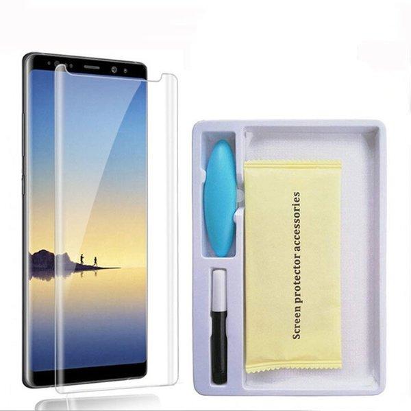 3D UV Glue Nano Optics Стъклен Протектор Samsung Note 8