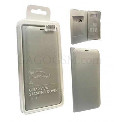 Clear Leather Cover Case Samsung S7 Edge