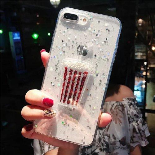 Cocktail Tpu силиконов кейс iPhone 5/SE