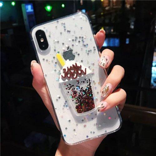 Cappuccino Tpu силиконов кейс iPhone 5/SE