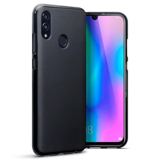 Черен силиконов гръб Huawei Honor 10 Lite