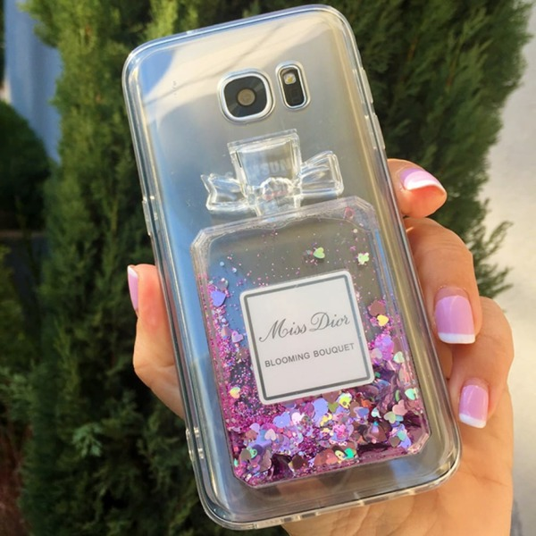 Perfume TPU силиконов кейс Samsung S9 Plus