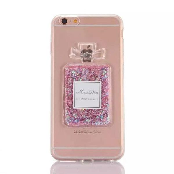Perfume TPU силиконов кейс iPhone 5/5S/SE