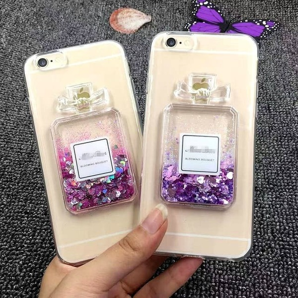 Perfume TPU силиконов кейс iPhone XS