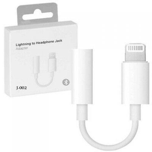 Bluetooth Apple Lightning to 3.5 mm Headphone - оригинален адаптер