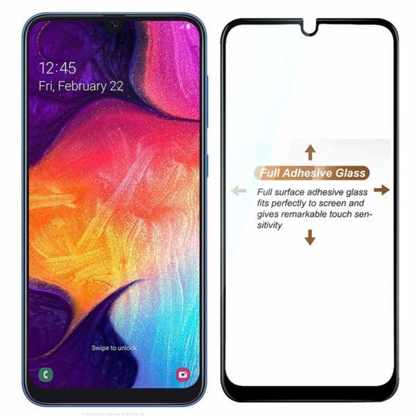 5D Glass FULL GLUE стъклен протектор Samsung A10 2019