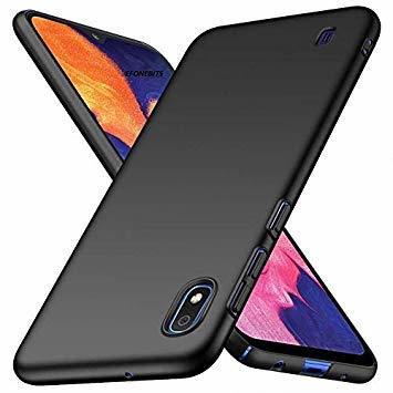 Черен силиконов гръб Samsung A10 2019