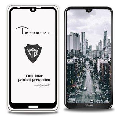 5D Glass FULL GLUE стъклен протектор Nokia 3.2 2019